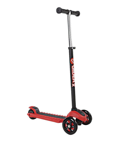 Outdoor Toys - Y VOLUTION YGLIDER XL BLACK/RED (4L OP 2PK) KIDS KICK SCOOTER - 100120