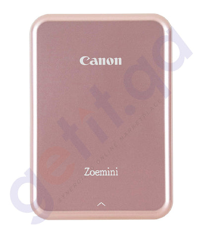 SHOP BEST PRICED CANON ZOEMINI PORTABLE PHOTO PRINTER PINK IN DOHA QATAR