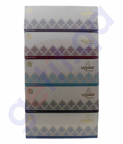 Buy Msheireb Tissue 200s 2ply 5pcs Price Online in Doha Qatar