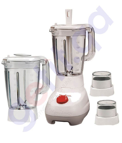 Buy Moulinex Blender 500w+ Extra Jar LM2070BD in Doha Qatar
