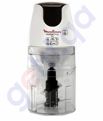 Buy Moulinex Chopper XL 750ML 500w DJ453G27 in Doha Qatar