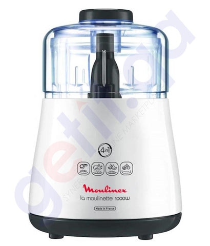 Buy Moulinex Chopper 1000w 300g DPA144 Online in Doha Qatar