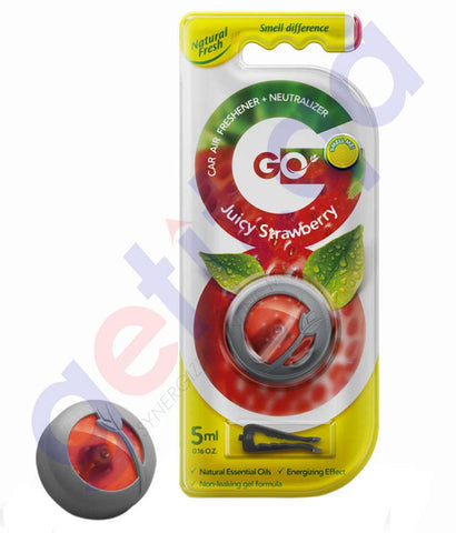 Buy Natural Fresh Go Air Freshener Neutralizer Juicy Strawberry 5ml Doha Qatar