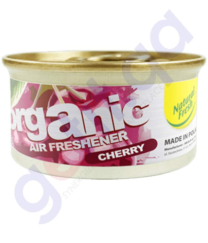 Buy Natural Fresh Organic Air Freshener Cherry 42gm in Doha Qatar