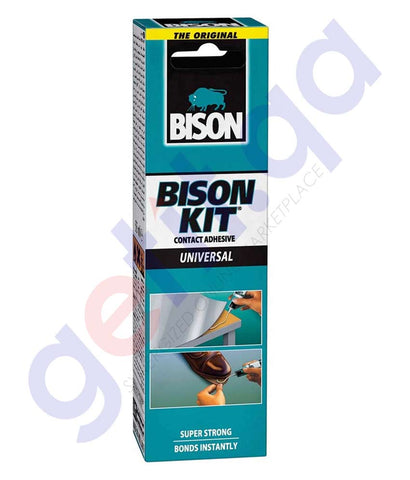 Buy Bison Kit- Contact Adhesive 55ml Online in Doha Qatar