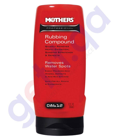 Buy Mothers Professional Rubbing Compound 12oz Doha Qatar