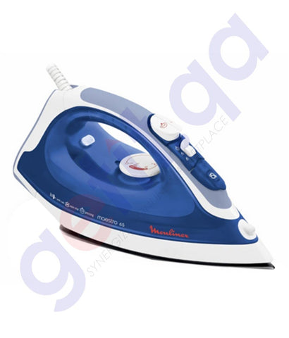 Buy Moulinex Steam Iron White IM3166MO Online in Doha Qatar