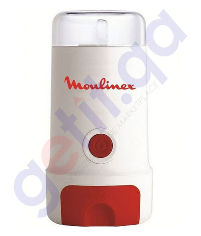 Buy Moulinex Coffee Grinder 180w MC300161 Online Doha Qatar