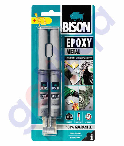Buy Bison Epoxy Metal 24ml Price Online in Doha Qatar