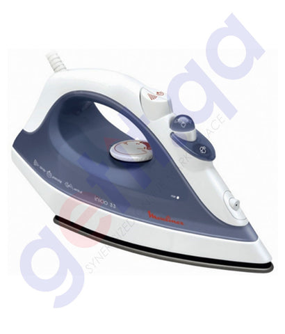 Buy Moulinex Steam Iron White IM1233MO Online in Doha Qatar