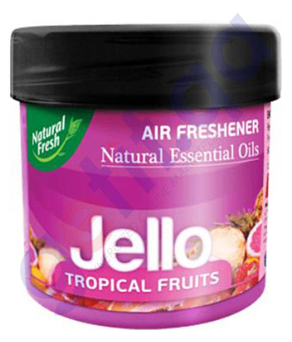 Buy Natural Fresh Air Freshener Oil Jello Tropical Fruits 100ml Doha Qatar