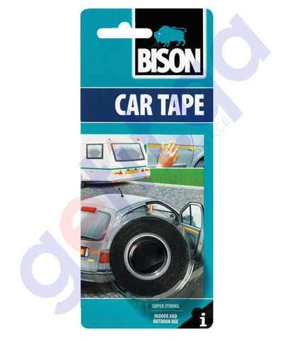 Buy Bison Car Tape 1.5Mx19MM Price Online in Doha Qatar