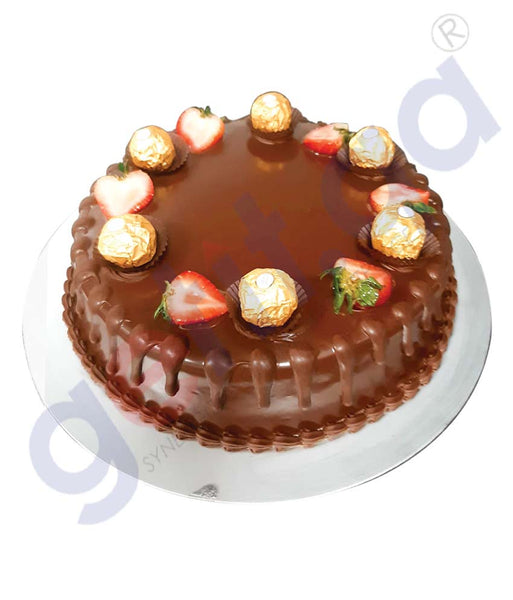 CHOCOLATE CAKE WITH FERRERO ROCHER 1KG