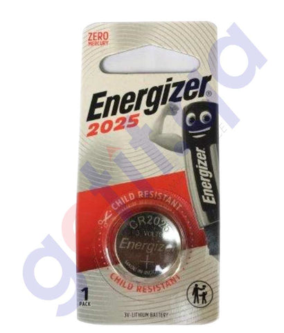 Buy Energizer Lithium Coin Battery 2025 3V BP1 Online Doha Qatar