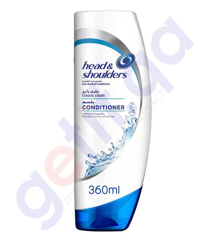 HEAD &  SHOULDER CONDITIONER CLASSIC & CLEAN 360ML PE050-0
