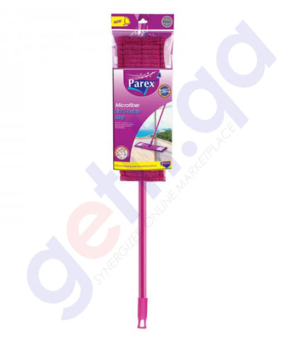 Buy Parex Effective Microfiber Flat Mop Regular Doha Qatar