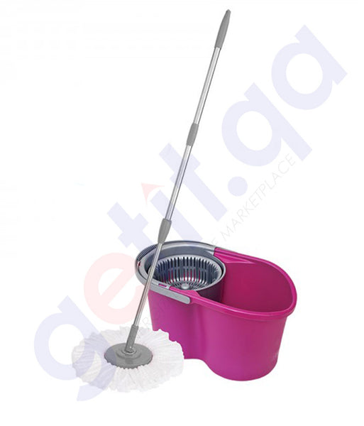 Buy Parex Tornado 360 Degree Spinning Mop Cleaning Doha Qatar