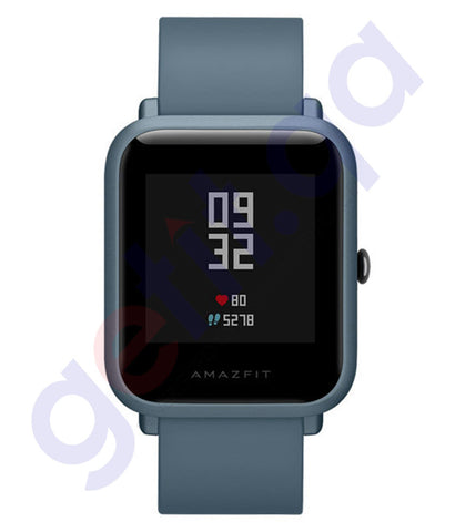 Buy Amazfit Bip Lite Smartwatch Blue Price Online in Doha Qatar
