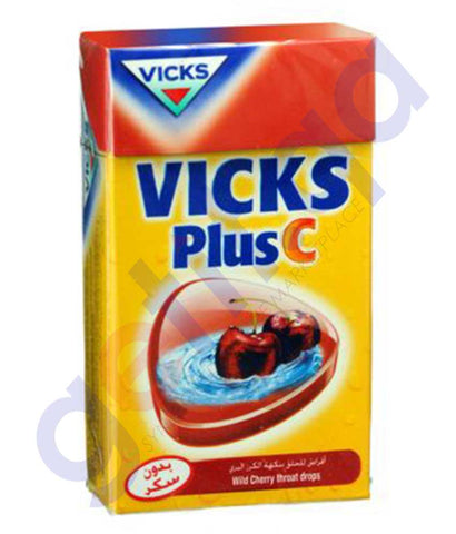 VICKS C. DROPS CHERRY 40GM PG 568-0