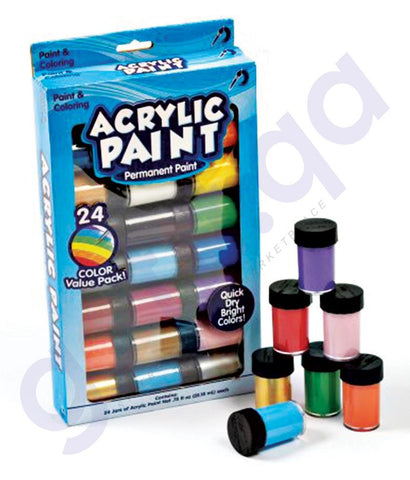 PAINT - ACRYLIC COLOR PAINT 12 COLOR - A5012