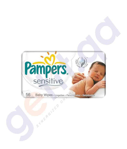 PAMPERS - PAMPERS BABY WIPES REFILL SENSITIVE 56-WIPES