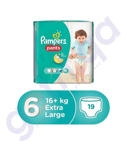 PAMPERS - PAMPERS PANTS SIZE-6 (19 PIECES)