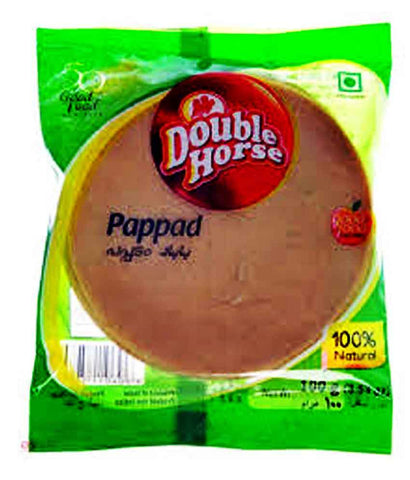 PAPPAD - DOUBLE HORSE PAPPAD-100GM