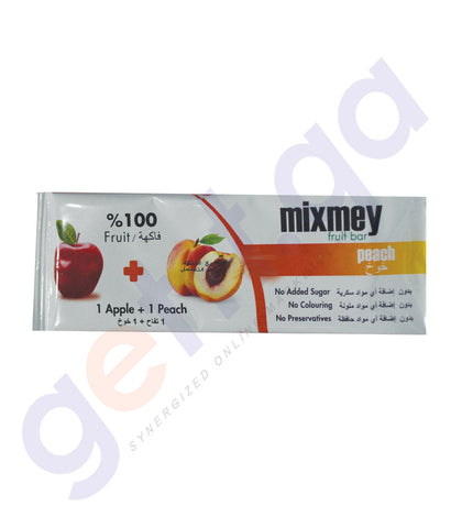 Mixmey Peach Fruit Bar
