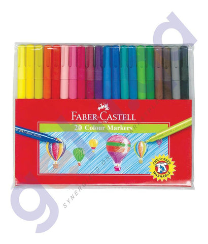 PEN PENCIL& MARKERS - 54F-SKETCH PEN SET OF 20 FCIN155420 BY FABER CASTELL