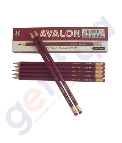 PEN PENCIL& MARKERS - AVALON LEAD PENCIL HB BY FABER CASTELL