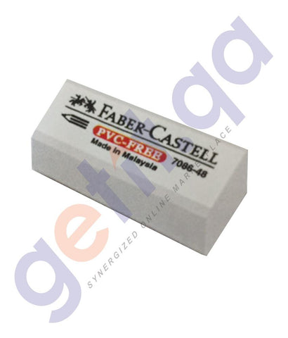 PEN PENCIL& MARKERS - ERASER PVC FREE 16 PIECES BLISTER FCM708648-16BP BY FABER CASTELL