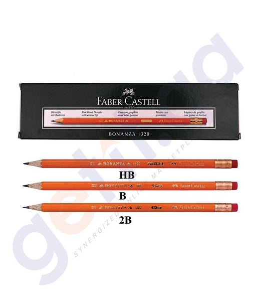 Pen, Pencil & Markers - XXX BONANZA  PENCIL HB 112000 FCI1320 BY FABER CASTELL