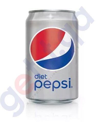 Buy Pepsi Diet Can 150ml/330ml Price Online in Doha Qatar