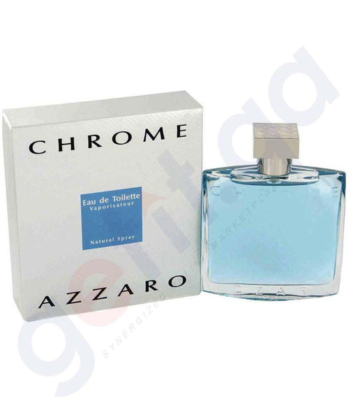 PERFUME - AZZARO CHROME EDT 100ML FOR MEN