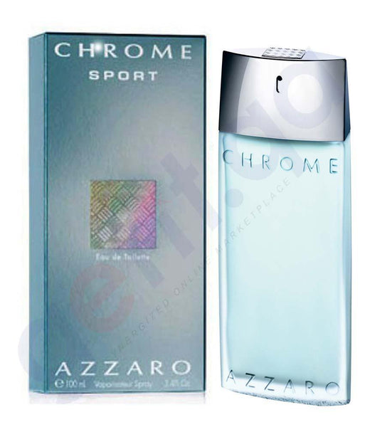 PERFUME - AZZARO CHROME SPORT EDT 100ML FOR MEN