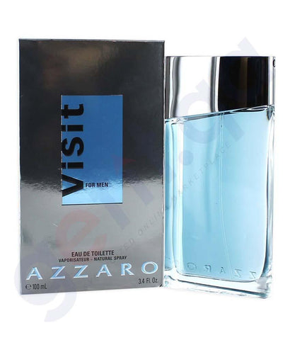 PERFUME - AZZARO VISIT EDT 100ML FOR MEN