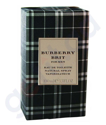 PERFUME - BURBERRY BRIT EDT 100ML FOR MEN