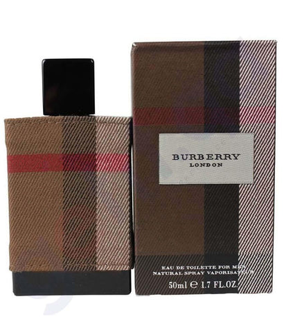 PERFUME - BURBERRY LONDON FABRIC EDT 50ML FOR MEN