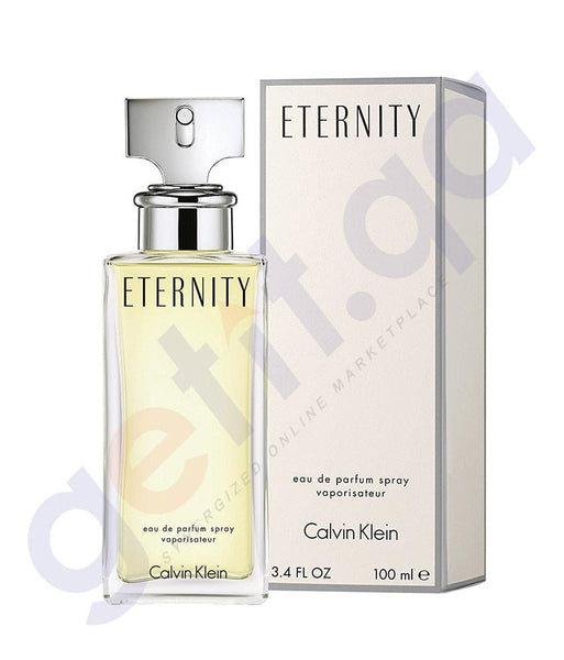 PERFUME - CALVIN KLEIN 100ML ETERNITY EDP FOR WOMEN