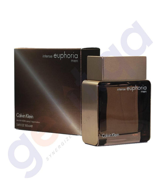 PERFUME - CALVIN KLEIN 100ML EUPHORIA INTENCE EDT FOR MEN