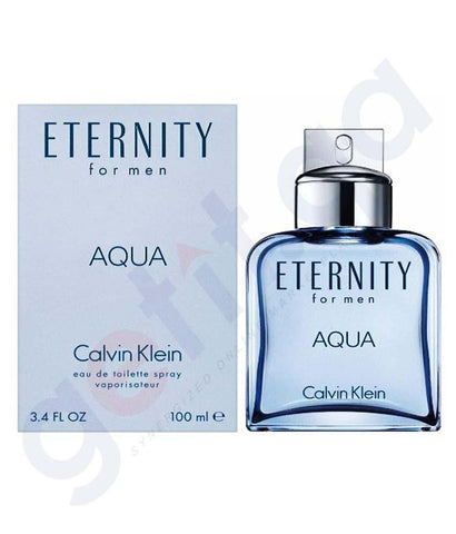 PERFUME - CALVIN KLEIN ETERNITY AQUA EDT 100ML FOR MEN