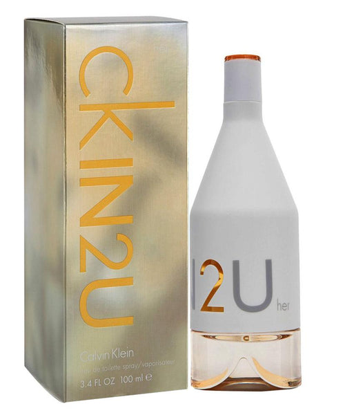 PERFUME - CALVIN KLEIN IN2U EDT 100ML FOR WOMEN