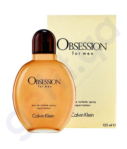PERFUME - CALVIN KLEIN OBSESSION EDT 125ML FOR MEN
