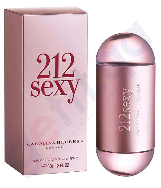 PERFUME - CAROLINA HERRERA 212 SEXY EDP 60ML FOR MEN