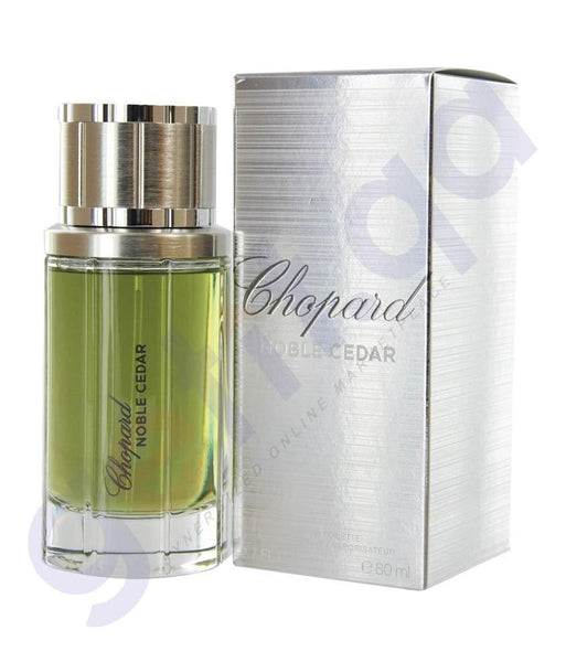 PERFUME - CHOPARD 80ML NOBLE CEDAR EDT FOR MEN