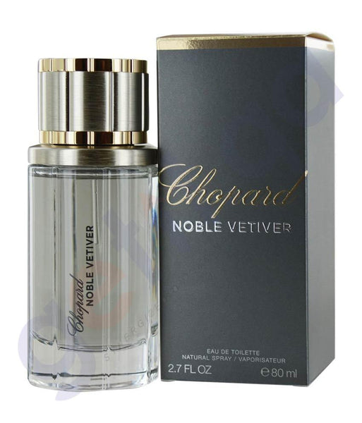 PERFUME - CHOPARD 80ML NOBLE VETIVER CHOPARD EDT FOR MEN