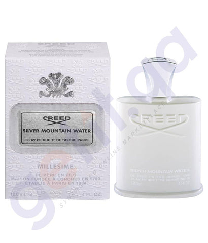 PERFUME - CREED 120ML SILVER MOUNTAIN WATER FOR MEN