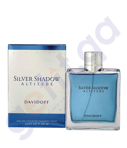 PERFUME - DAVIDOFF 100ML SILVER SHADOW ALTITUDE EDT FOR MEN