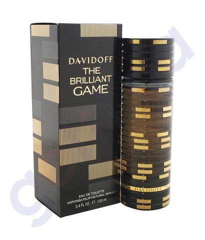PERFUME - DAVIDOFF 100ML THE BRILLIANT GAME EDT FOR MEN