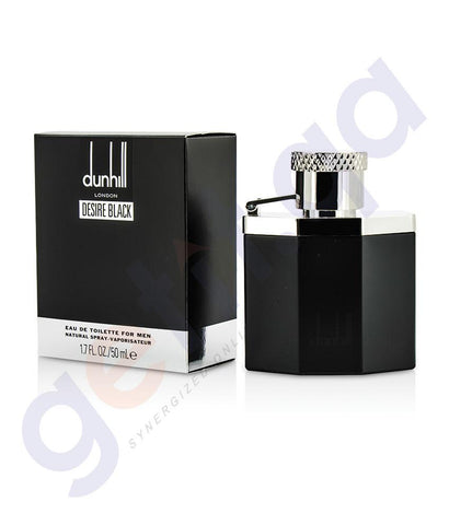 PERFUME - DUNHILL 50ML DESIRE BLACK EDT FOR MEN